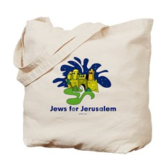 Jews For Jerusalem Tote Bag
