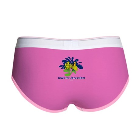Jews For Jerusalem Women's Boy Brief