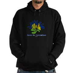 Jews For Jerusalem Hoodie (dark)