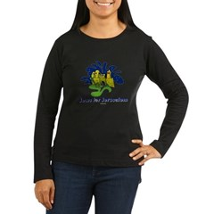 Jews For Jerusalem Women's Long Sleeve Dark T-Shir