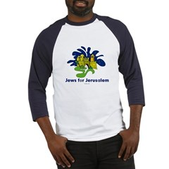 Jews For Jerusalem Baseball Jersey