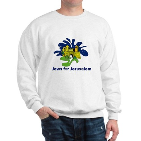 Jews For Jerusalem Sweatshirt