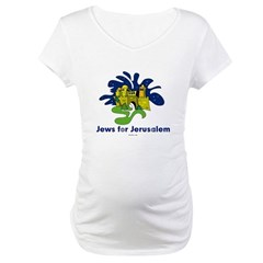 Jews For Jerusalem Maternity T-Shirt