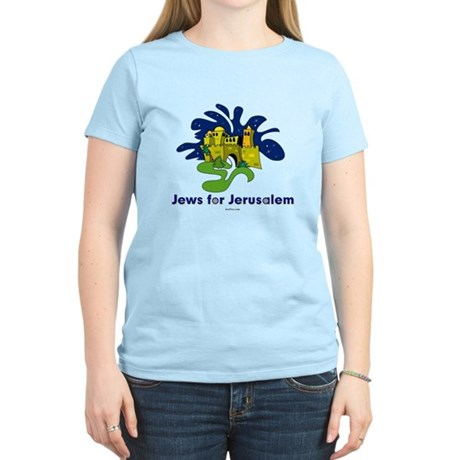 Jews For Jerusalem Women's Light T-Shirt