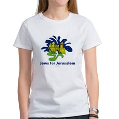 Jews For Jerusalem Women's T-Shirt
