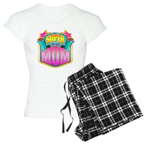 Pink Super Mom Women's Light Pajamas