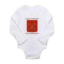 St. Petersburg (simple) Long Sleeve Infant Bodysui