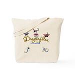 I Love Dragonflies Tote Bag