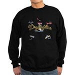I Love Dragonflies Sweatshirt (dark)