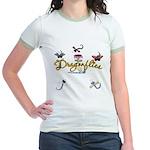 I Love Dragonflies Jr. Ringer T-Shirt