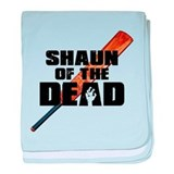 Shaun of the Dead baby blanket