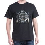 Winter Blue Dreamcatcher Dark T-Shirt