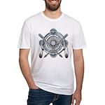 Winter Blue Dreamcatcher Fitted T-Shirt