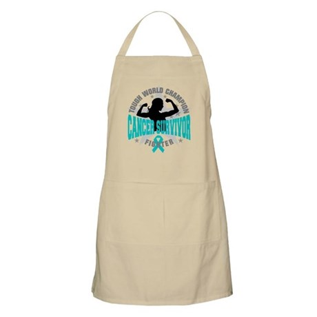 Ovarian Cancer Tough Survivor Apron