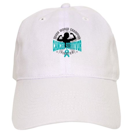 Ovarian Cancer Tough Survivor Cap