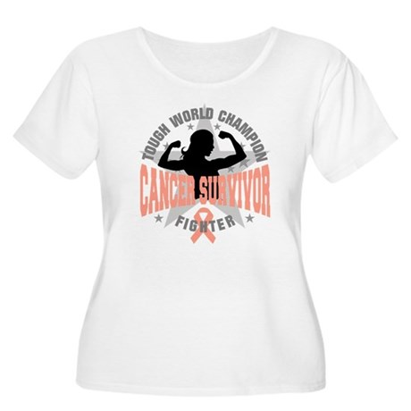 Endometrial Cancer ToughSurvivor Women's Plus Size