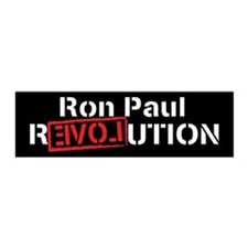 Ron Paul 2012 21x7 Wall Peel