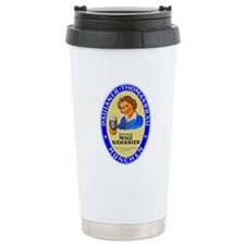 Germany Beer Label 10 Ceramic Travel Mug