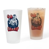 Boxing Champ 60th Birthday Drinking Glass