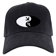 Yin Yang Snakes on a Plane Baseball Hat
