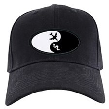 Yin Yang Snakes on a Plane Baseball Hat