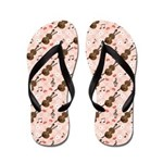 Violin Music Note Flip Flops