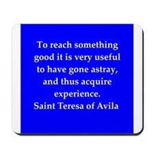 Saint Teresa of Avila Mousepad