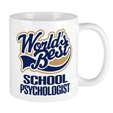 School Psychologist Gift (Worlds Best) Mug