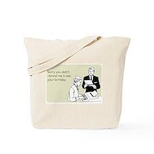 Birthday Reminder Tote Bag