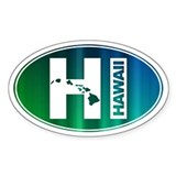 HI Hawaii - Bumper Stickers