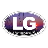 Lake George, New York - Decal