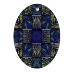 Eyes of the Night Ornament (Oval)