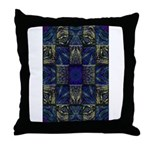 Eyes of the Night Throw Pillow