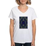 Eyes of the Night Women's V-Neck T-Shirt