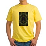 Eyes of the Night Yellow T-Shirt