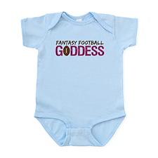 Fantasy Football Goddess Infant Bodysuit