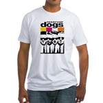 Reservoir Dogs DVD Cover Style Fitted T-Shirt
