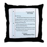 Cool Thebreakfastclubmovie Throw Pillow