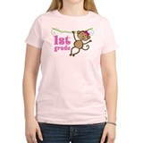 Cute 1st Grade Monkey Gift T-Shirt