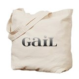 Gail Carved Metal Tote Bag