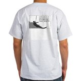 Ash Grey Slalom Water Ski T-Shirt