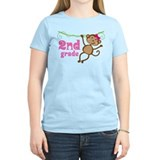Cute 2nd Grade Monkey Gift T-Shirt
