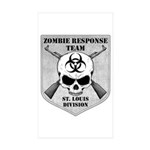 Zombie Response Team: St Louis Division Sticker (R