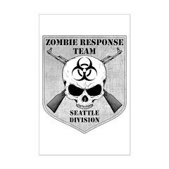 Zombie Response Team: Seattle Division Mini Poster