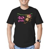 Cute 4th Grade Monkey Gift T