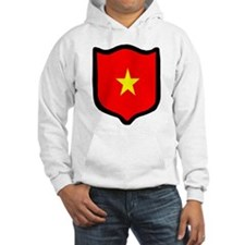 Cute Vietnamese national flag Hoodie