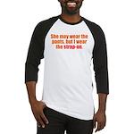 Strap-On Baseball Jersey