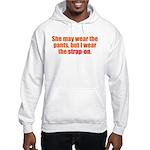 Strap-On Hooded Sweatshirt