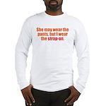 Strap-On Long Sleeve T-Shirt