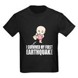 My first earthquake T
